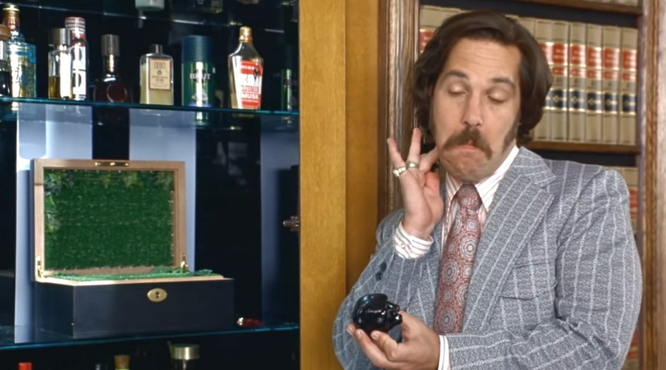 Paul Rudd in Anchorman: The Legend of Ron Burgundy (2004)