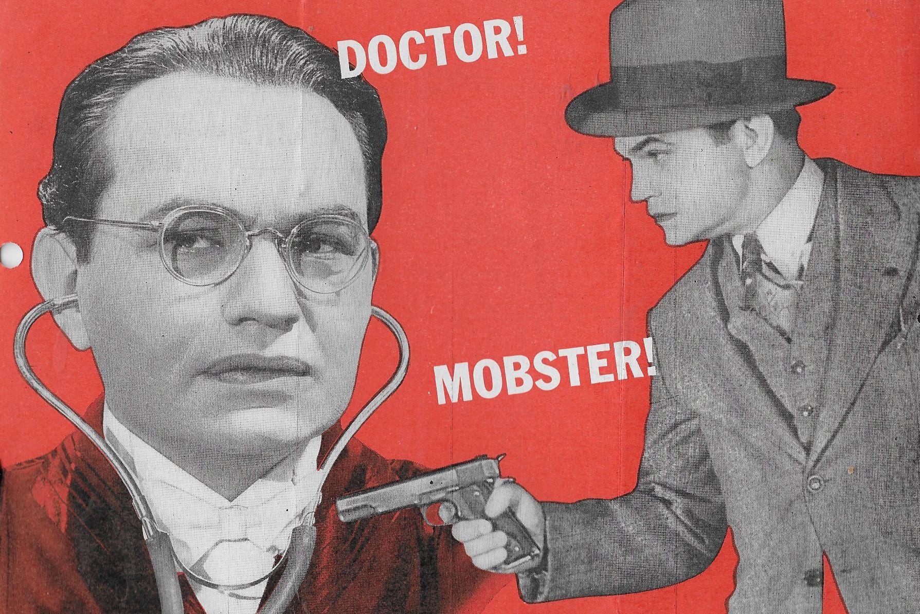 Edward G. Robinson in The Amazing Dr. Clitterhouse (1938)