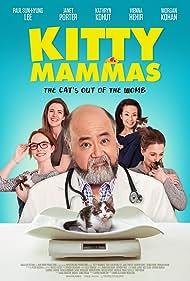 Stephanie Belding, Paul Sun-Hyung Lee, Vienna Hehir, Janet Porter, Helene Robbie, Morgan Kohan, and Kathryn Kohut in Kitty Mammas (2020)