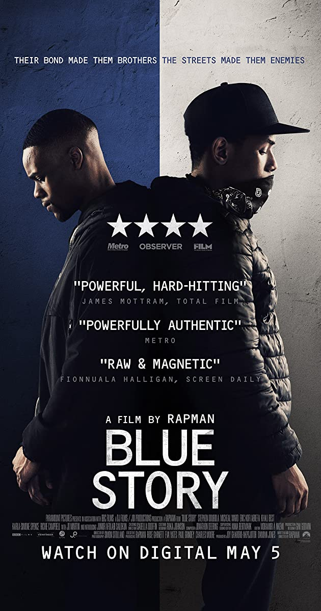 Subtitle of Blue Story