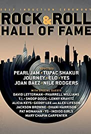 The 2017 Rock and Roll Hall of Fame Induction Ceremony Poster