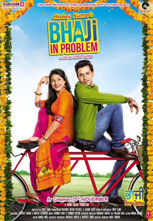Bhaji In Problem 2013 Punjabi 720p NF HDRip 800MB Download