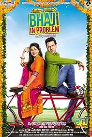 Gippy Grewal and Misha Bajwa in Bha Ji in Problem (2013)