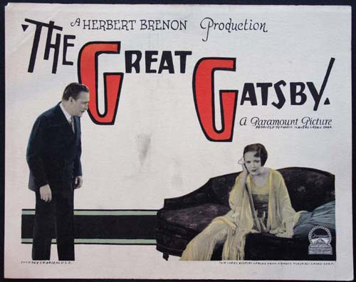 Hale Hamilton and Lois Wilson in The Great Gatsby (1926)