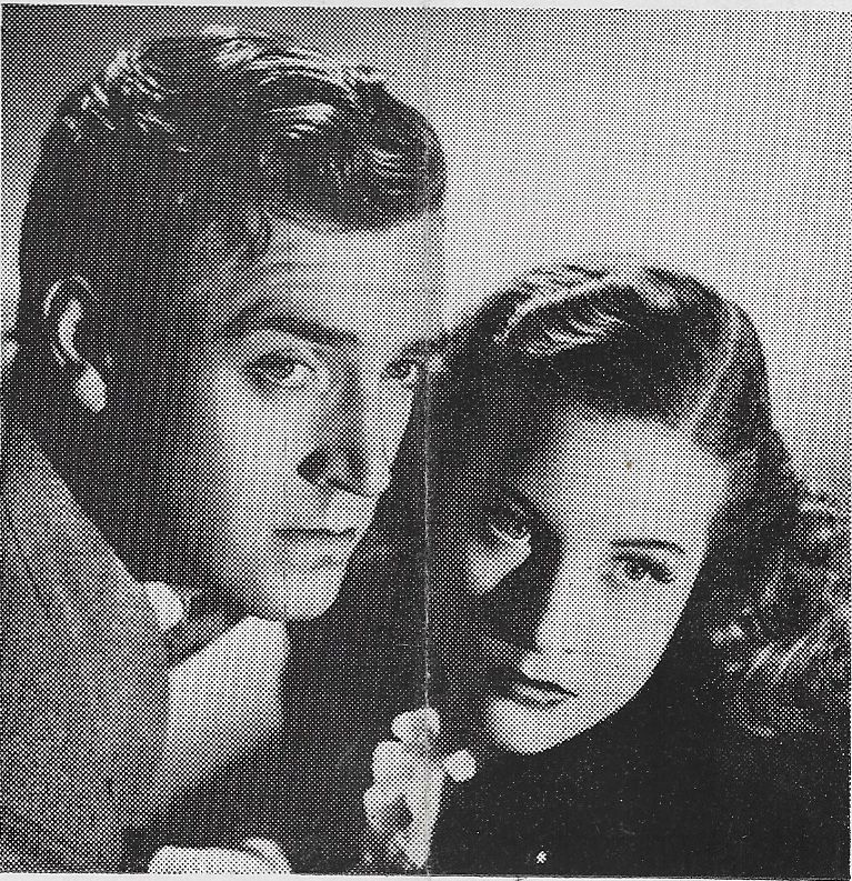 Janice Logan and Robert Paige in Opened by Mistake (1940)