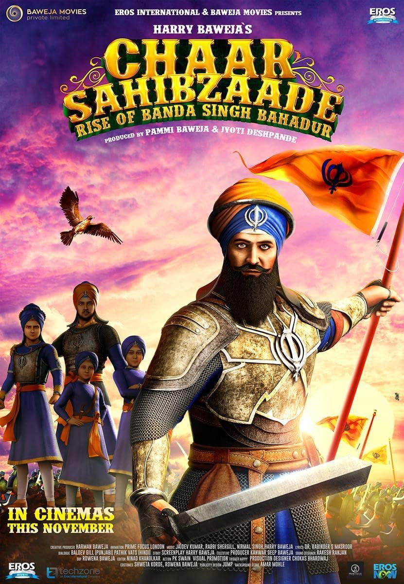 Chaar Sahibzaade: Rise of Banda Singh Bahadur (2016) Hindi Dubbed