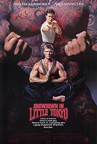 Dolph Lundgren, Brandon Lee, and Cary-Hiroyuki Tagawa in Showdown in Little Tokyo (1991)