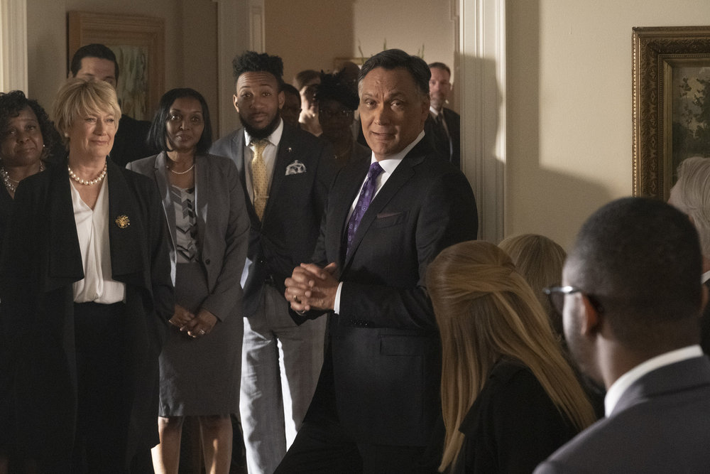 Jimmy Smits and Jayne Atkinson in Bluff City Law (2019)