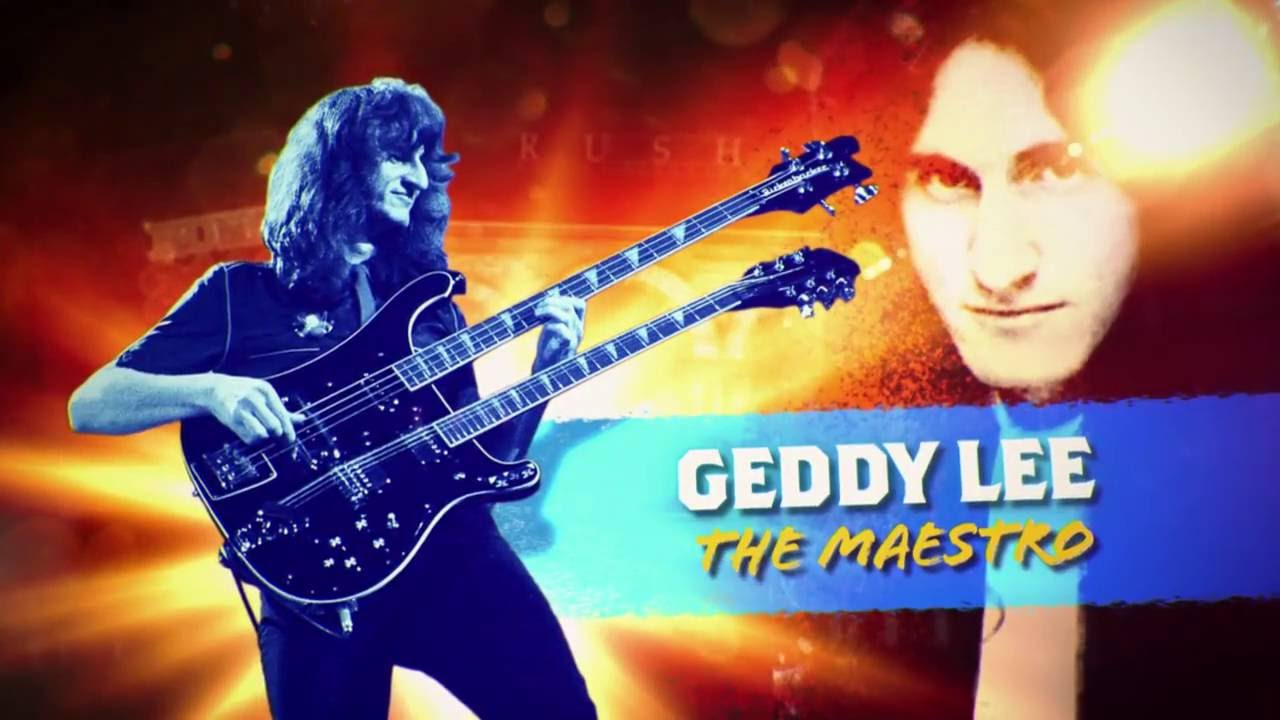 Geddy Lee in Rock Icons (2015)