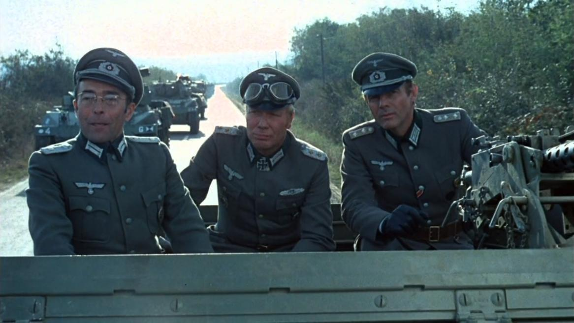 Adam West, Peter Carsten, and Cane Firaunovic in Partizani (1974)