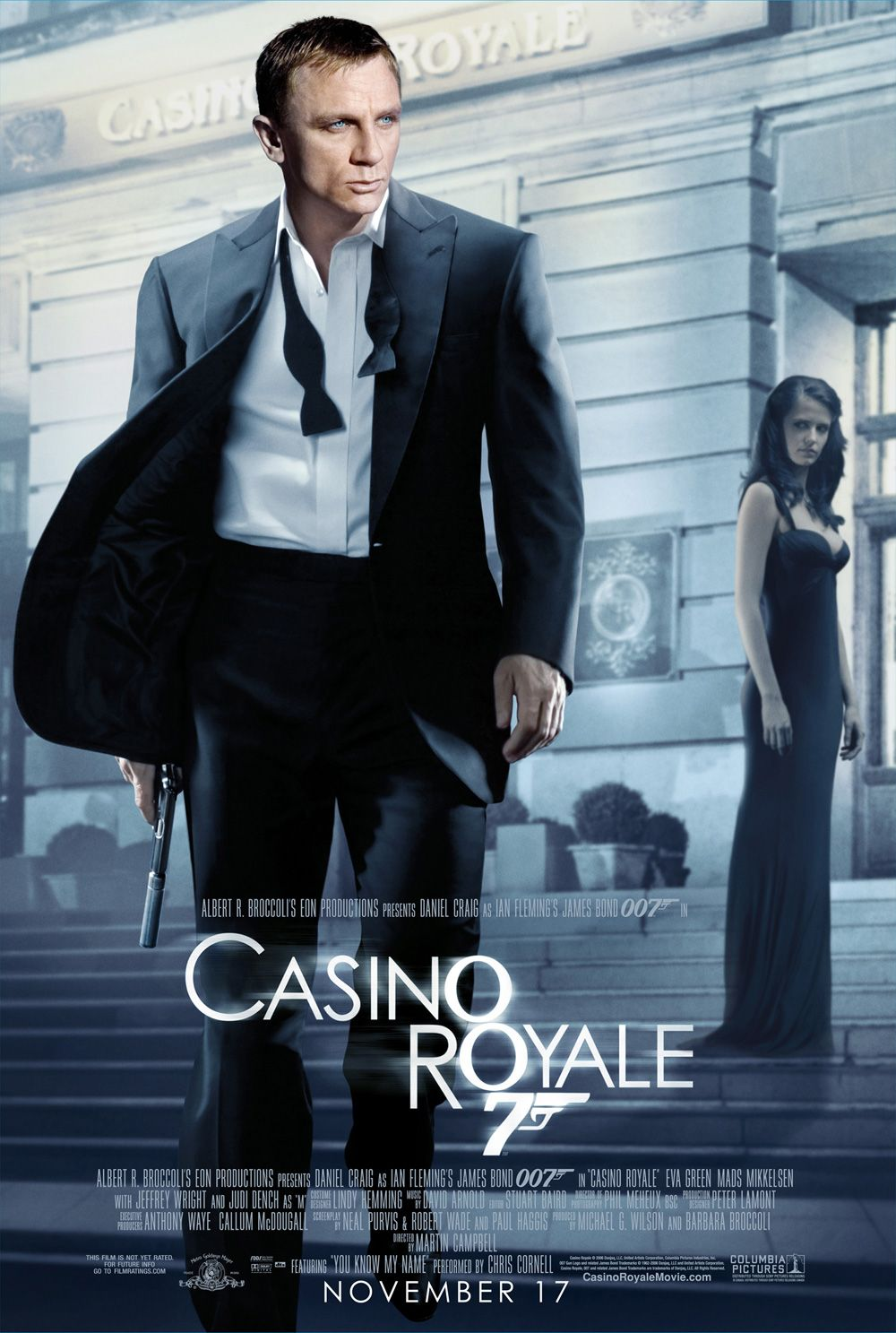 Casino Royale (2006) BDRip 720p 1.4GB [Telugu-Hindi-Tamil-Eng] Esubs MKV