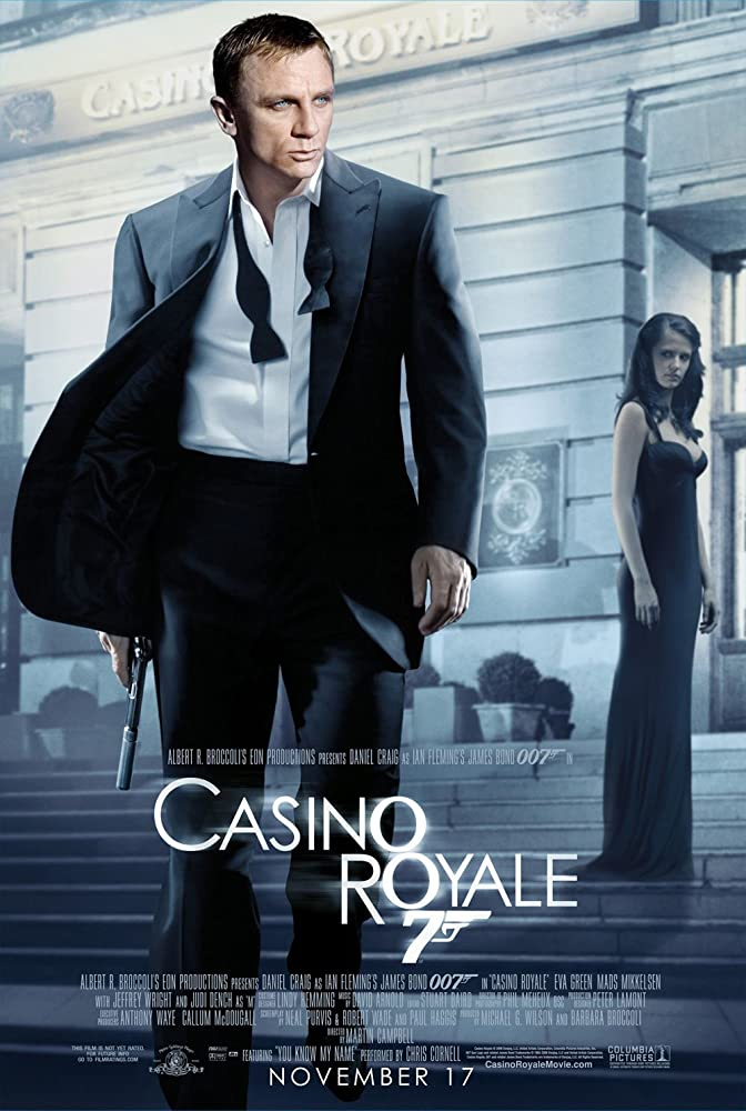 Casino Royale 2006 Dual Audio Hindi 500MB BluRay Download