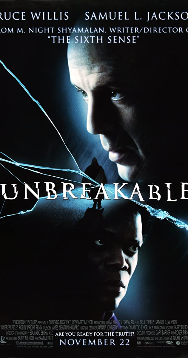 Subtitle of Unbreakable