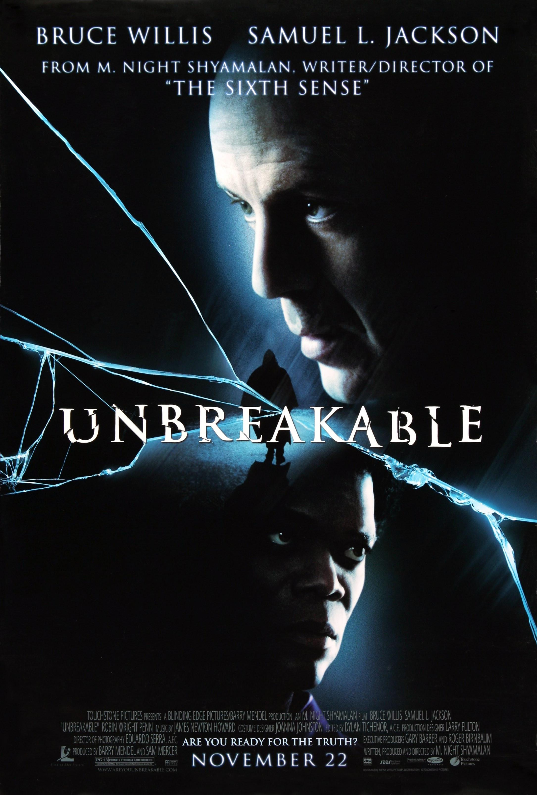 Unbreakable (2000) BluRay 480p, 720p & 1080p