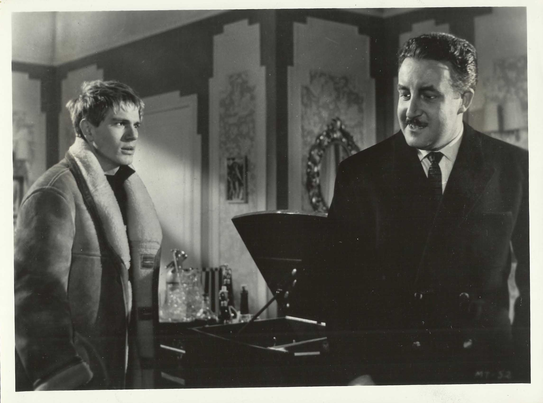 Peter Sellers and Adam Faith in Never Let Go (1960)