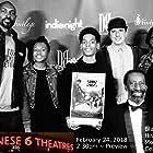 Ron Duncan, Phillip E. Walker, and Michael Douglas Goodman at an event for The Hip-Hop Kid (2018)