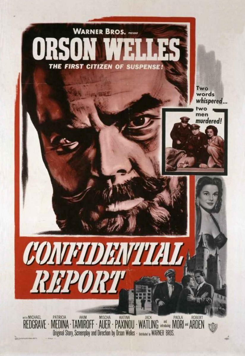 Confidential Report (1955) - IMDb