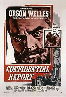 Confidential Report (1955)