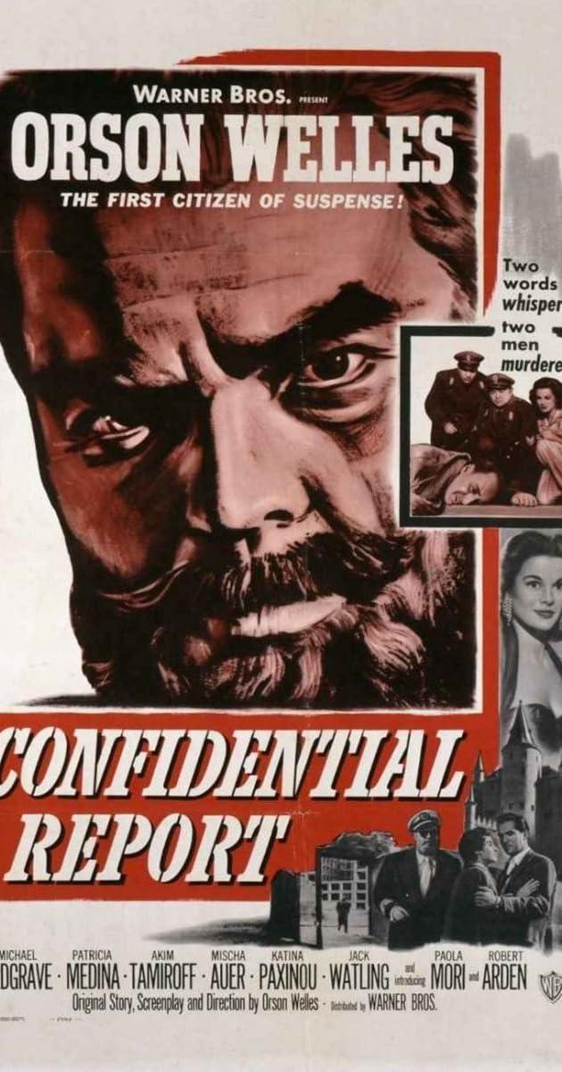 Confidential Report (1962)