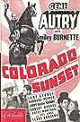 Colorado Sunset (1939) Poster