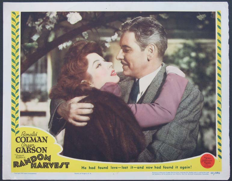 Greer Garson and Ronald Colman in Random Harvest (1942)