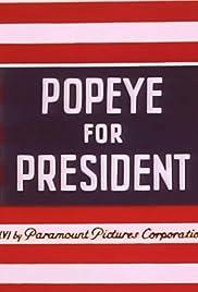 Popeye for President Poster