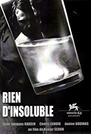Rien d'insoluble Poster