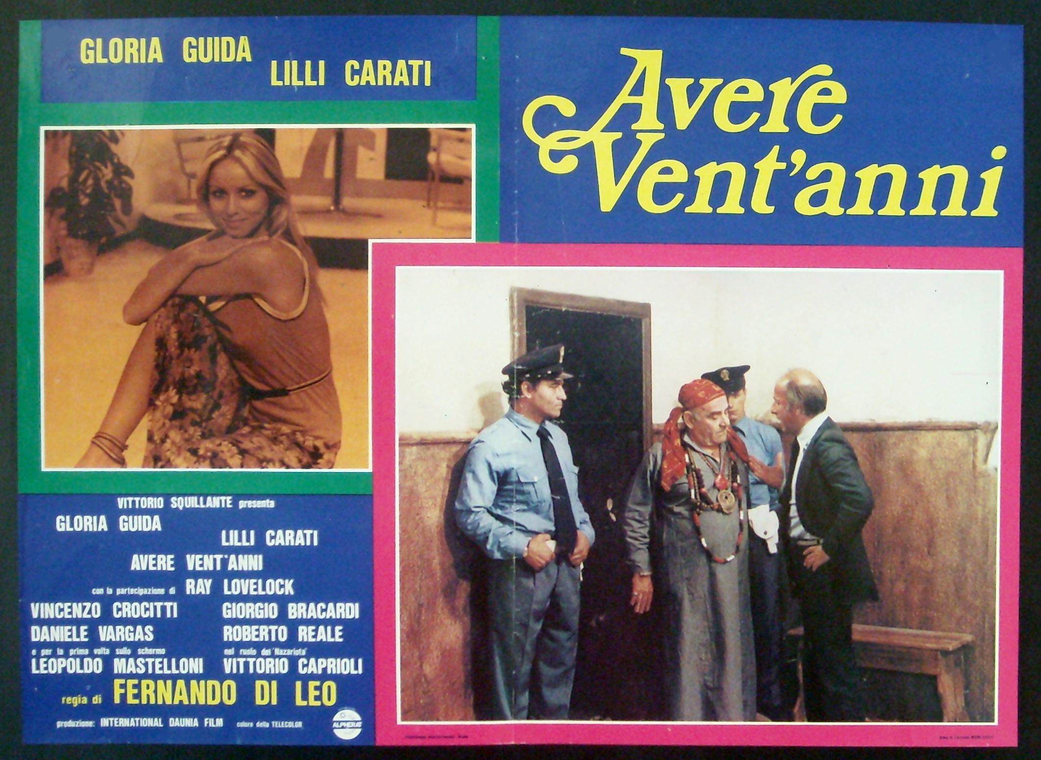 Gloria Guida in Avere vent'anni (1978)
