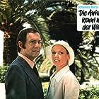 Marthe Keller and Maurice Ronet in Die Antwort kennt nur der Wind (1974)