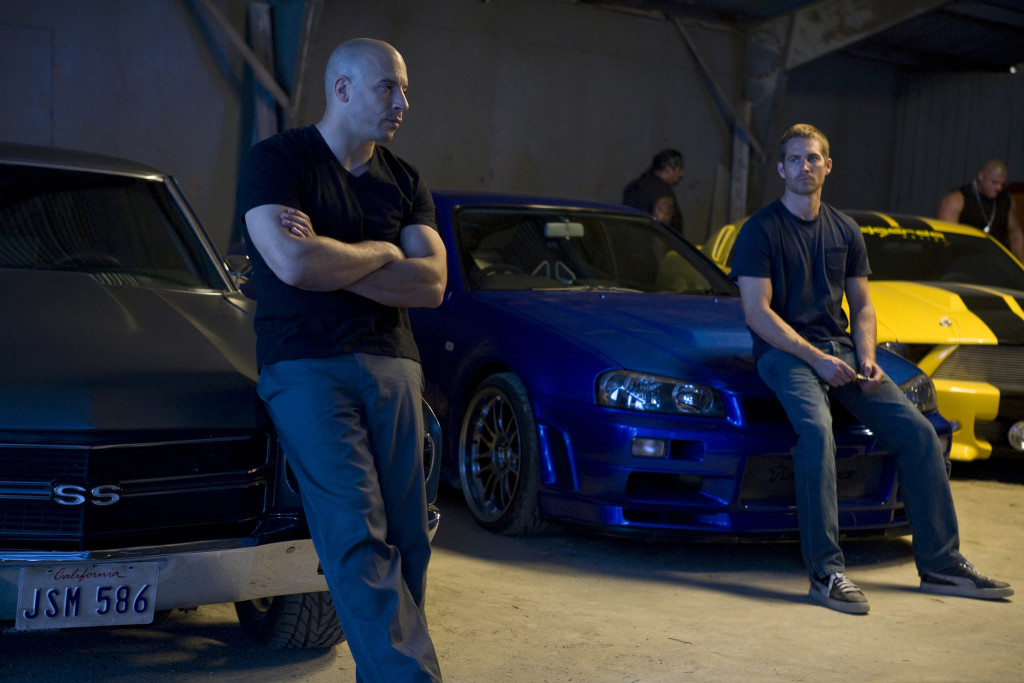 Vin Diesel and Paul Walker in Fast & Furious (2009)