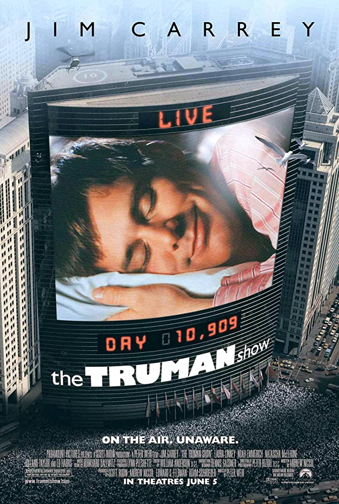 Jim Carrey in The Truman Show (1998)