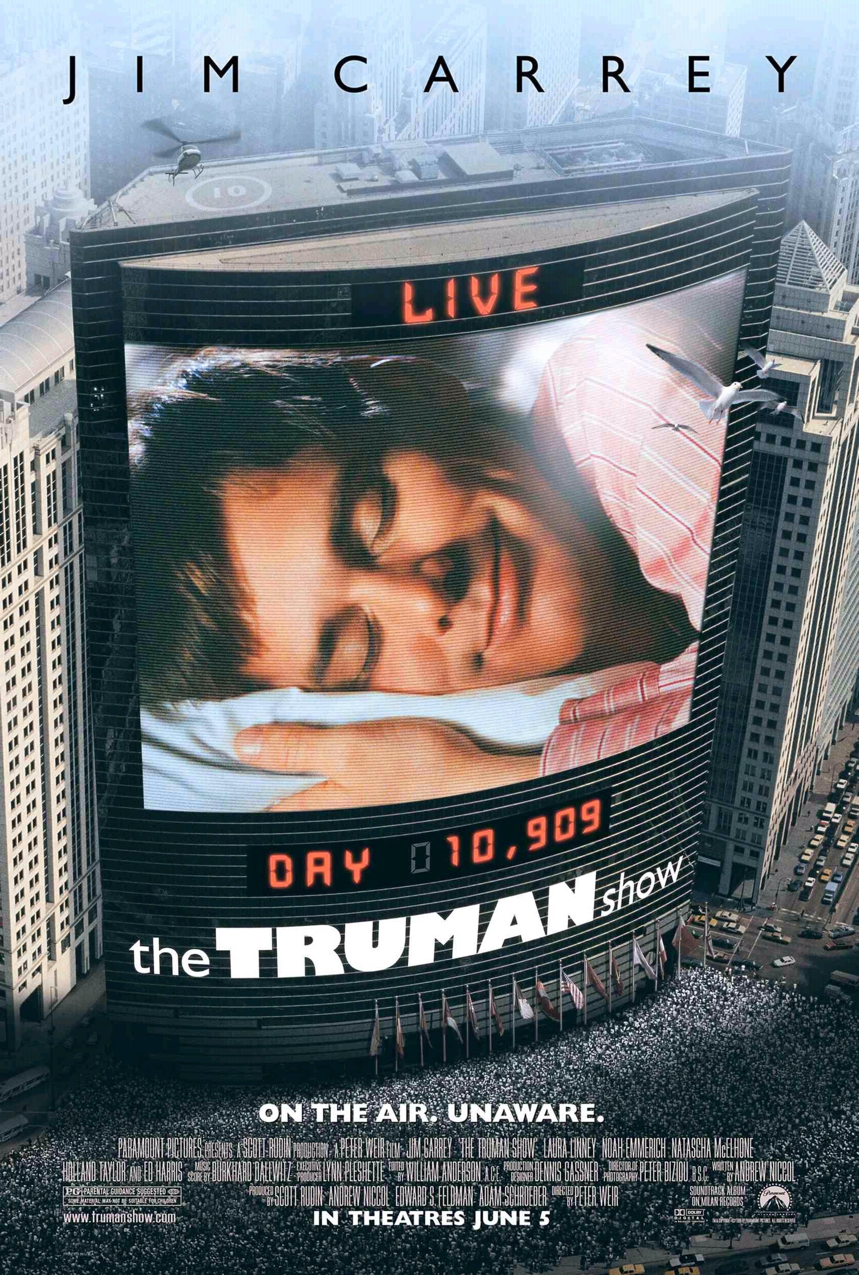 The Truman Show (1998) BluRay 720p & 1080p