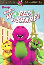 Barney: What a World We Share Poster