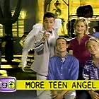 Corbin Allred, Jordan Brower, Mike Damus, and Maureen McCormick in Teen Angel (1997)