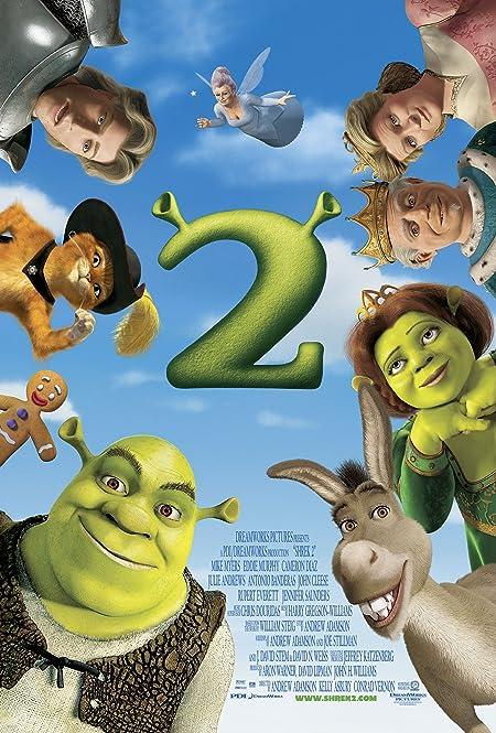 [PG] Shrek 2 (2004) Dual Audio Blu-Ray - 480P | 720P - x264 - 300MB | 800MB - Download & Watch Online  Movie Poster - mlsbd