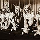 Marilyn Monroe, Marjorie Hoshelle, Adele Jergens, Dorothy Tuttle, Eve Whitney, and Judith Woodbury in Ladies of the Chorus (1948)