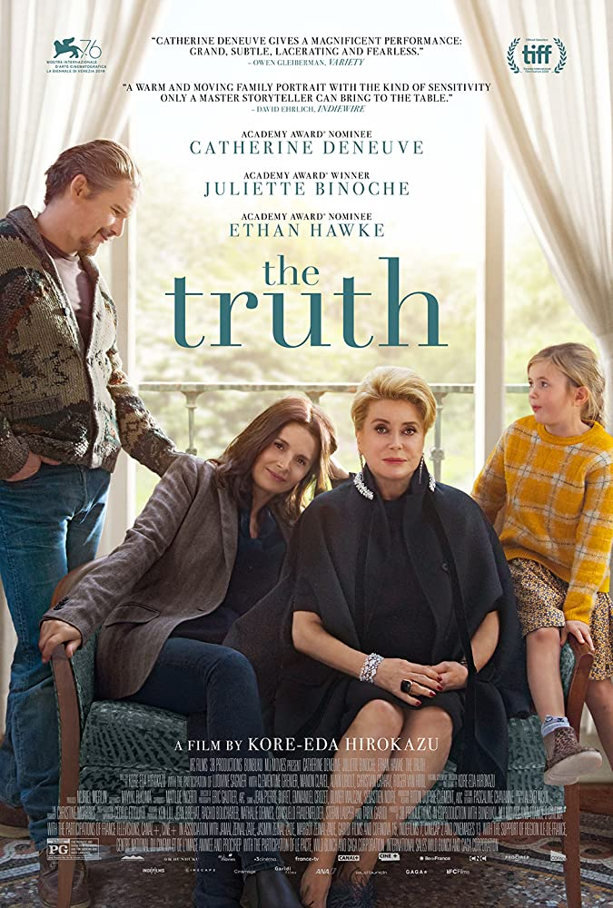 The Truth (La vérité ) 2019 Dual Audio Hindi (Fun Dub) 300MB BluRay 480p