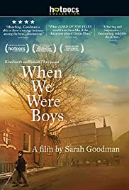 When We Were Boys Poster