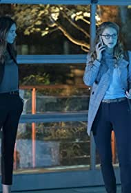Odette Annable and Melissa Benoist in Supergirl (2015)