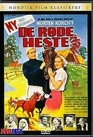 De røde heste Poster