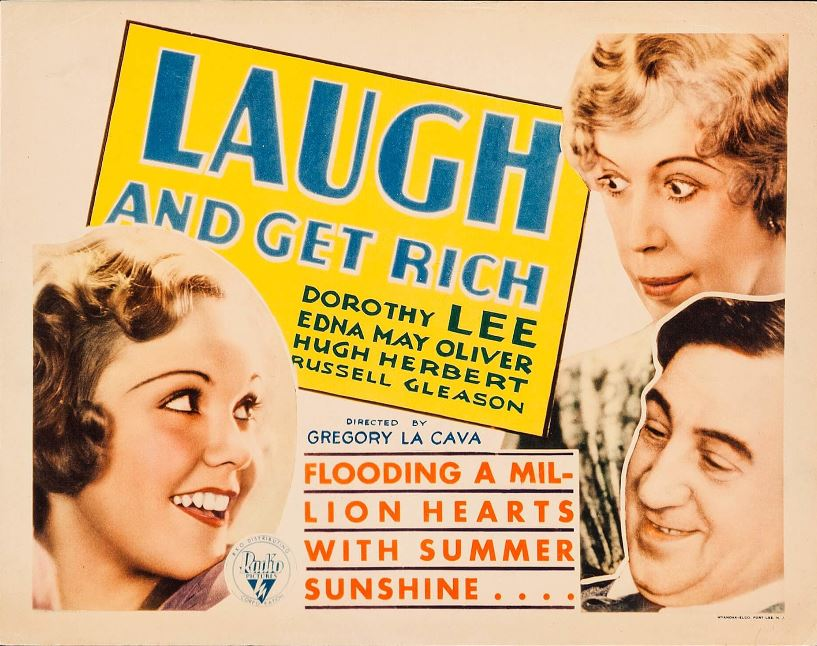 Hugh Herbert, Dorothy Lee, and Edna May Oliver in Laugh and Get Rich (1931)