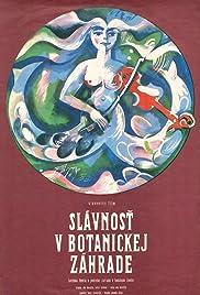 Slávnost v botanickej záhrade Poster