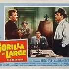 Raymond Burr, Lee J. Cobb, Cameron Mitchell, and Warren Stevens in Gorilla at Large (1954)