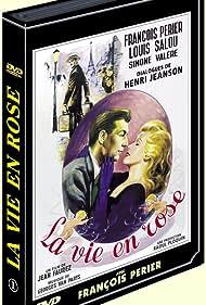 Jean Faurez, François Périer, Louis Salou, and Simone Valère in La vie en rose (1948)