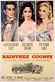 Elizabeth Taylor, Montgomery Clift, and Eva Marie Saint in Raintree County (1957)