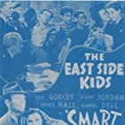 Gabriel Dell, Leo Gorcey, Huntz Hall, Bobby Jordan, Roger Pryor, Herbert Rawlinson, Maxie Rosenbloom, and Gale Storm in Smart Alecks (1942)