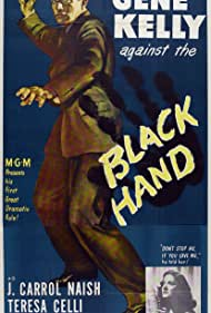 Gene Kelly and Teresa Celli in Black Hand (1950)