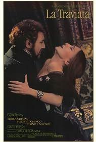 Plácido Domingo and Teresa Stratas in La traviata (1982)