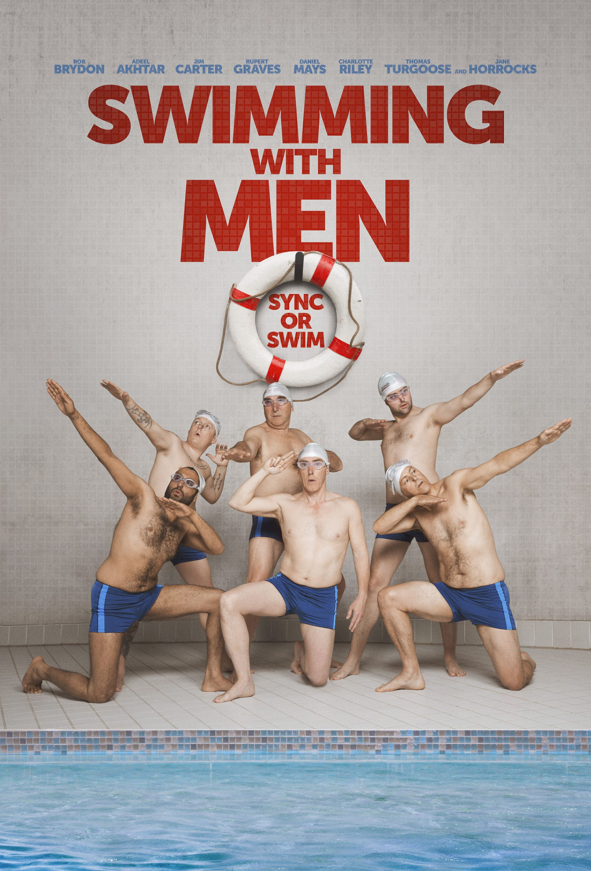 Plaukiant su vyrais (2018) / Swimming with Men