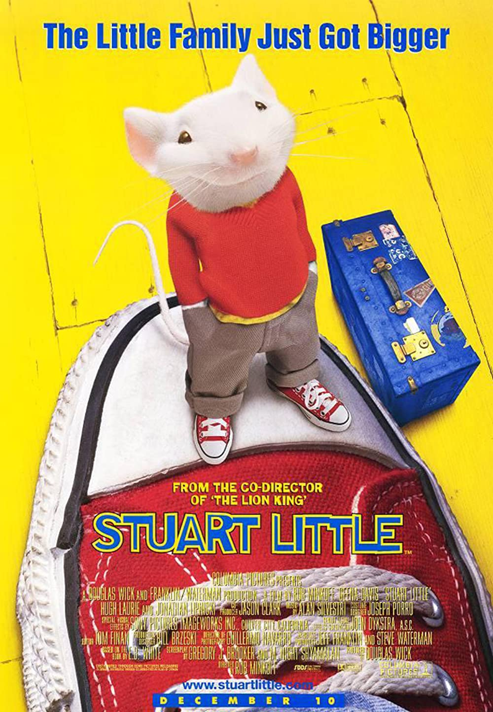 Stuart Little 1999 Hindi Dual Audio 305MB BluRay Download